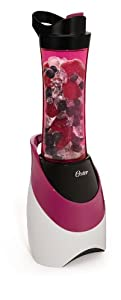 Oster BLSTPB-WPK My Blend 250-Watt Blender with Travel Sport Bottle, Pink