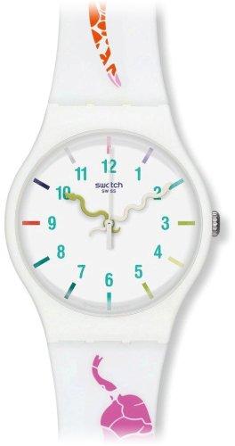 Swatch - Orologio da polso, analogico al quarzo, silicone
