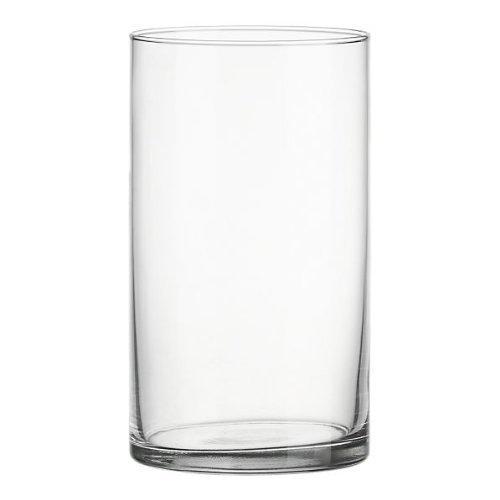Clear Acrylic Cylinder Vase Hard Wearing Lightweight
