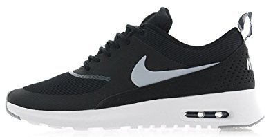 Nike Women's Air Max Thea Black/Wolf Grey/Anthrct/White Running Shoe 7.5 (Nike Women Air Max compare prices)