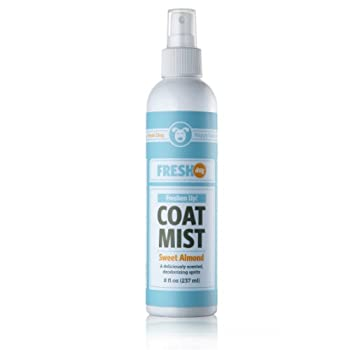 Fresh Dog Freshen Up! Coat Mist with Sweet Almond