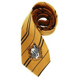 Harry Pottler Hufflepuff Necktie - Official Harry Potter TM Tie