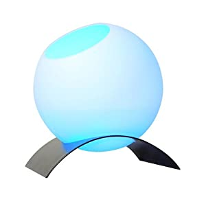 Ultrasonic Ball Mist Decorative Humidifier LED Multi-color Lamp with Rack, Air Humidifier & Automatic Color-changed Decorative LED Lamp