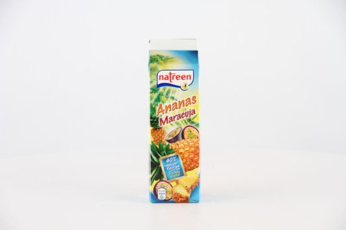WeserGold: Natreen Ananas Maracuja Ohne Zuckerzusatz - 1 x 1000 ml