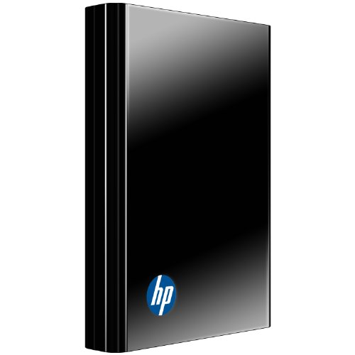 Hewlett Packard HP Portable 1 TB USB 3.0/2.0 External Hard Drive