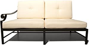Strathwood Falkner Sectional Right Arm Loveseat With Cushions from Strathwood
