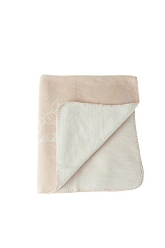NaturaPura Organic Cotton Blanket, Bunnies & Flowers