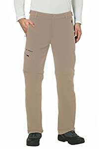 VAUDE Herren Hose Men's Farley Stretch T-Zip Pants II, Muddy, 46, 04575