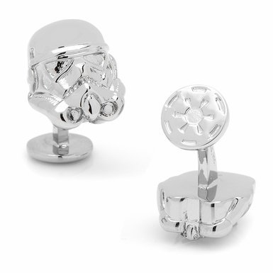 Officially Licensed Star Wars 3-D Storm Trooper Stormtrooper Head Cufflinks