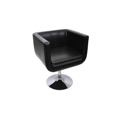 LOUNGE Sessel Clubsessel Barhocker Drehstuhl Cocktailsessel Drehsessel schwarz