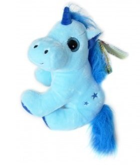 THE-MAGIC-UNICORNS-Plush-Toy-Unicorn-Blue-1130cm-Very-good-quality-Different-models-to-collect
