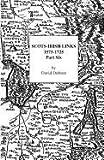 Scots-Irish Links, 1575-1725: Part Six (0806353511) by Dobson, David