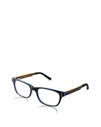 Ivory + Mason Men's TMW103 Melrose Eyewear, Blue Black/Olive