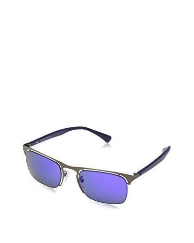 Police Gafas de Sol Offside 4 Plateado / Azul