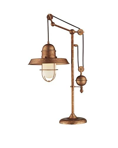 Artistic Lighting Table Lamp, Bellwether Copper