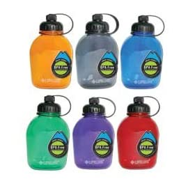 Lifeline Smart Cap Canteeen Water Bottle- 2 Pack