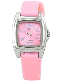 Watch Me Pink Rubber Analogue Watch For Women WMAL-110-PK