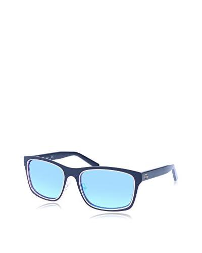 GUESS Gafas de Sol 6849 (56 mm) Azul Oscuro