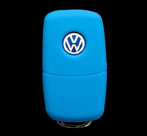 Remote Cover For Vw Volkswagen Light Blue
