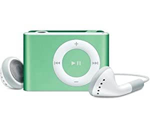 Apple iPod shuffle 2 GB Green (2nd Generation)  (Discontinued by Manufacturer)