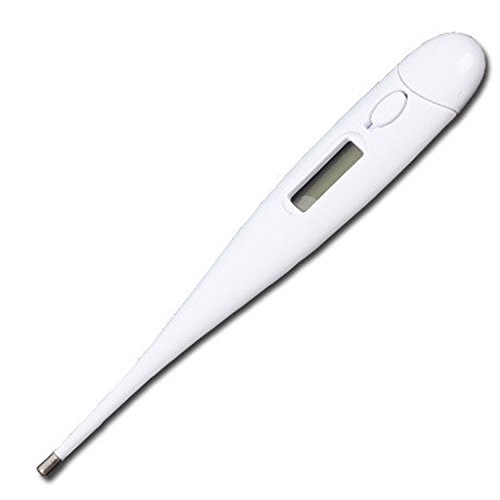 Lusee® Babypflege Digitales Display Elektronisches Fieberthermometer Thermo Thermometer (Weiss Fieberthermometer)