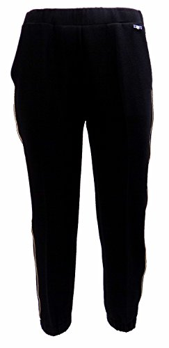 Pantalone Donna TWIN-SET SA62PQ Crèpe Over Autunno Inverno 2016 Nero S