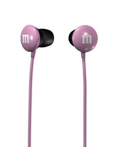 Maxell M&M'S Lightweight Earbuds - Pink (190551)