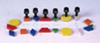 Stamp Set Pattern Block 6/Pk -- Case of 2