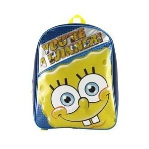 "Spongbob Squarepants ""You're a Winner!"" Large Backpack"