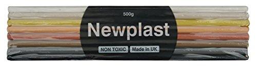 NewPlast 500 g arcobaleno colorato blocco di argilla