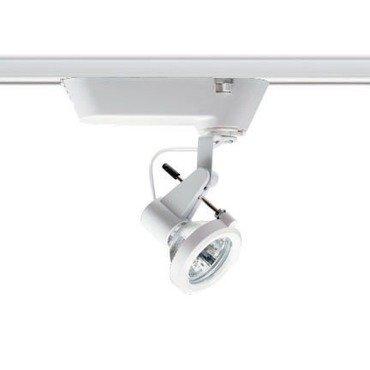 Juno Lighting T216WH Juno Track Light, Low Voltage Delta 200 Designer Track Fixture White