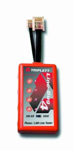 Triplett 9615 Line-Bug 4 Phone and LAN Line Tester
