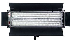 ALZO Video Dimmable Pan-L-Lite Twin with 2 - 55 watt 3200K Video-Lux Bulbs, Honey Comb Filter & Fabric Diffuser