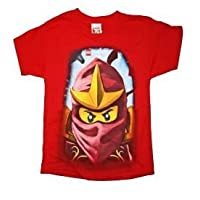 Lego Ninjago Kai Boys T Shirt (M 8, Red) Medium