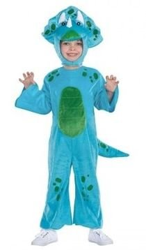 Blue Lil Dino Dinosaur Childs Toddler Costume Size 2T - 4T