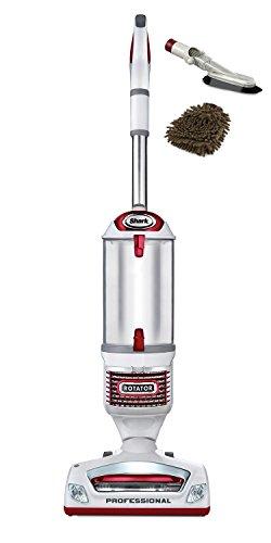 NV501 Rotator Professional Lift-away Upright Vacuum, Shark Cleaner (Complete Set) w/ Bonus: Premium Microfiber Cleaner Bundle (Shark Navigator Elite compare prices)