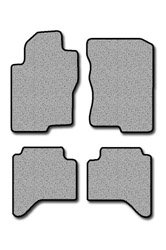 Nissan Xterra Touring Carpeted Custom-Fit Floor Mats - 4 PC Set - Medium Gray (2005 2006 2007 2008 05 06 07 08)