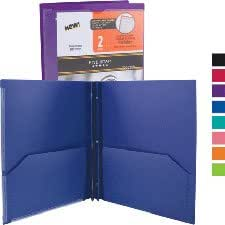 Eight expanding pockets with strong cloth gussets and divider tabs for easy organization. Features clipboard writing surface, pen/pencil loops and Velcro® .