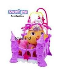 Ding-e Babies Crazy Cute Princess Crib and Accessories - 1