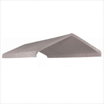 """ShelterLogic 10x20 Canopy Replacement Cover for 1-3/8"""" Frame (White)"""