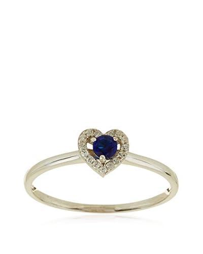 My Silver Conjunto de pendientes y anillo Cuore Montana