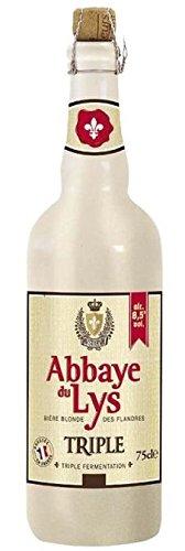 biere-blonde-des-flandres-abbaye-du-lys-75-cl
