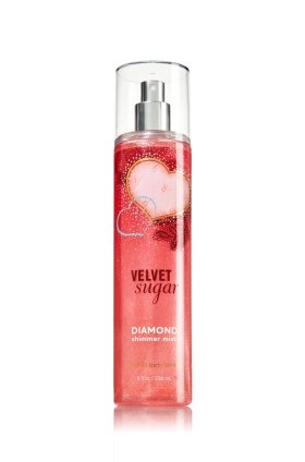 Bath & Body Works Shimmer Mist - Velvet Sugar - 8 Fl Oz / 236 Ml