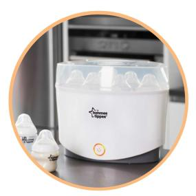 tommee tippee electric sterilizer manual