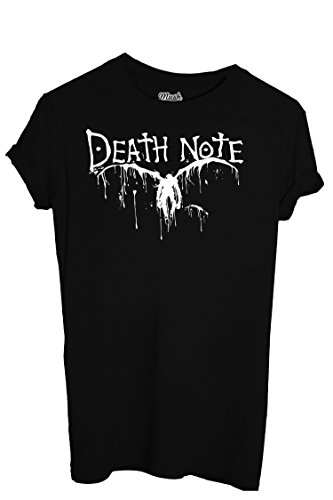 T-Shirt DEATH NOTE - CARTOON by Mush Dress Your Style - Uomo-XL-Nera
