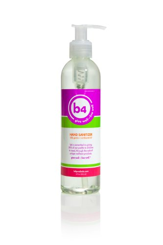 B4 Hand Sanitizer 8Oz Pump Bottle