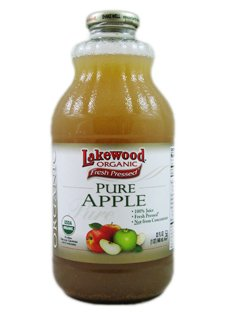 Lakewood Organic Fresh Pressed Pure Apple (3 X 32 Fl Oz) (Apple Juice Pure Pressed compare prices)