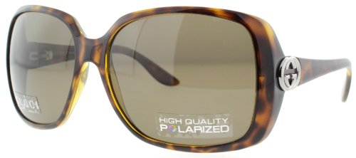 Gucci GG3166/S Sunglasses-0791 Havana (SP Bronze Polarized Lens)-59mm