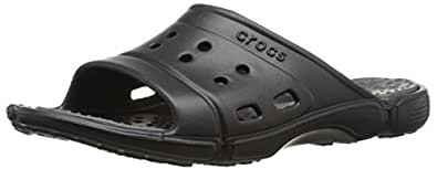 crocs Men's 15697 Prepair II.5 SS Slide Fisherman Sandal,Volt Green/Graphite,10 M US
