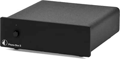 Pro-Ject Audio - Phono Box S - MM/MC phono preamplifier - Black from PRO-JECT